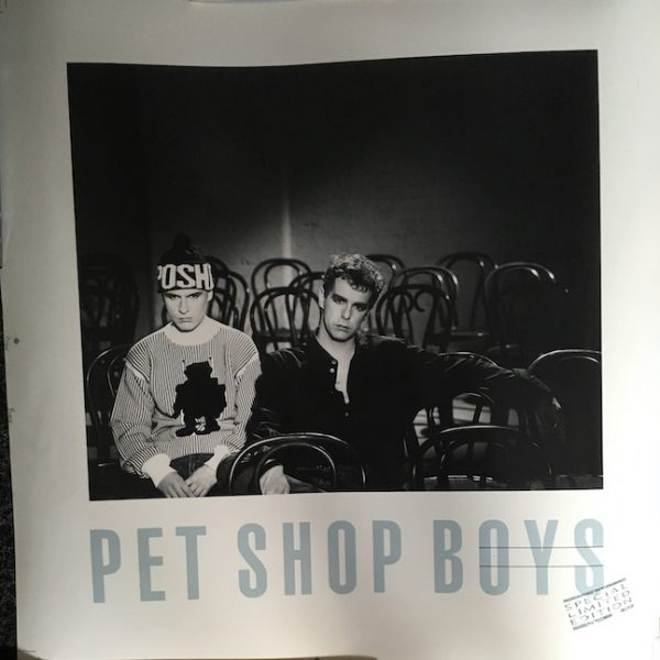 Pet Shop Boys Rare Cromalin;in Proof for Ltd Edition Always on My Mind Poster