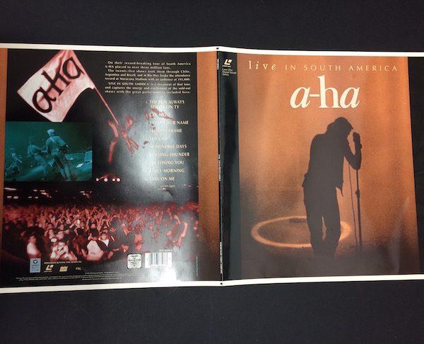 AHA Original Cromalin Proof Artwork For Album