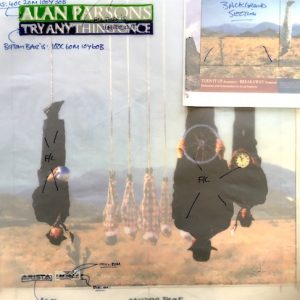 Alan Parsons Try Anything Once Album Production Artwork