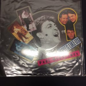 "Paul Mccartney's Spies Like us 7"" Picture Disc"