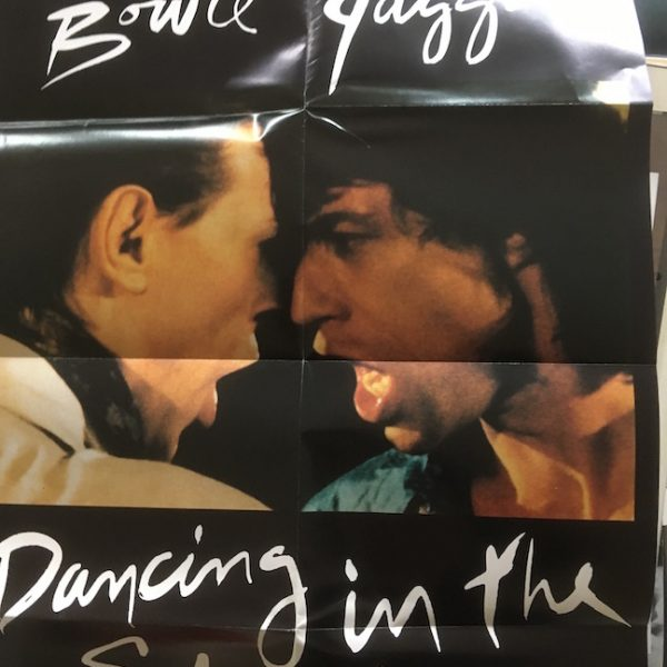 David Bowie Mick Jagger Origional 1985 Live Aid Dancing In The Street Poster