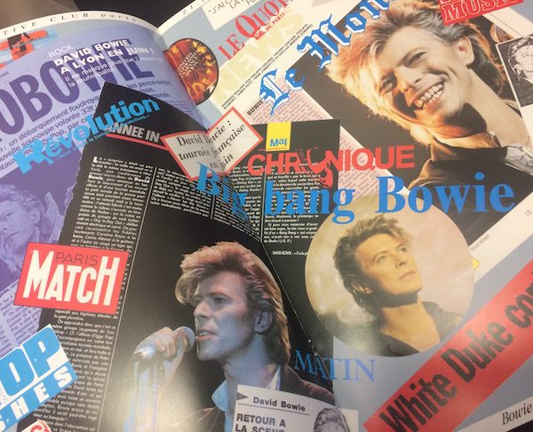 David Bowie Super Rare Europe Under Pressure Commissioned by Bowie