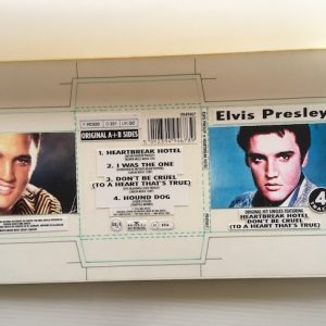 Elvis Presley The Original Artwork for the 3 inch 4 track CD HEARTBREAK HOTEL