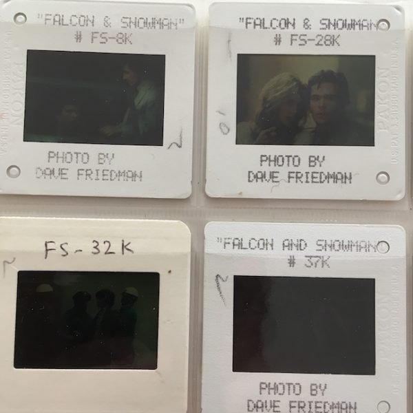 The Falcon and the Snowman Original Film Transparencies 1985