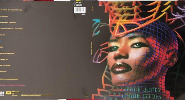 Grace Jones Proof Artwork for Inside Story Album Cover