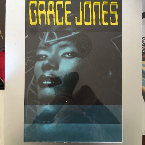 Grace Jones The Original Final Presentation Artwork for Inside Story Album Sticker