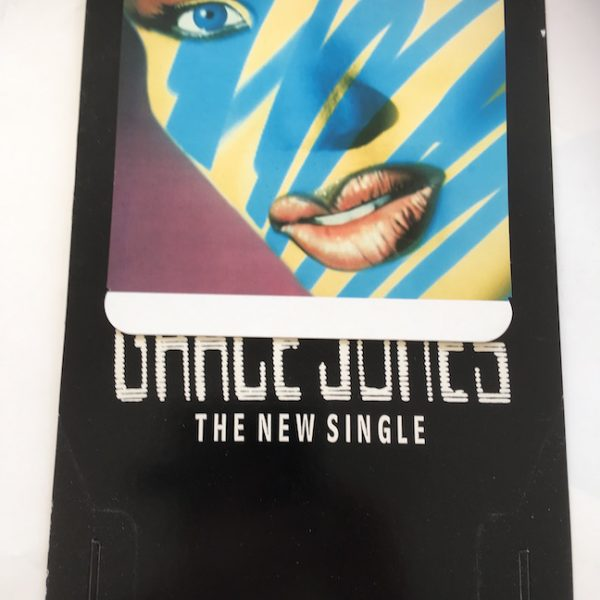Grace Jones In Store Display for Vinyl Single I'm Not Perfect