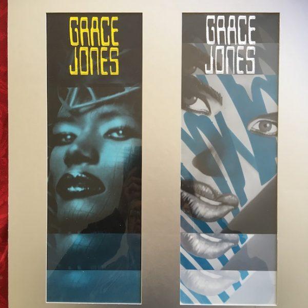 Grace Jones The Original Final Presentation Artwork for I'm Not Perfect