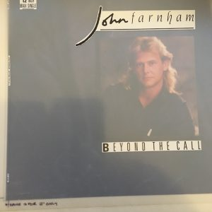 John Farnham Original Master Artwork For Beyond The Call Singles