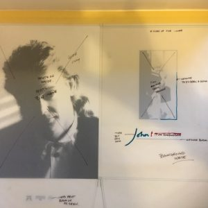 John Farnham OriginalL Master Artwork For Press Folder