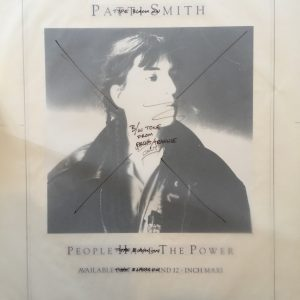 Patti Smith People Have the Power Proof original album artwork