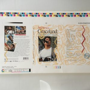 Paul Simon Original Proof Artwork For Graceland