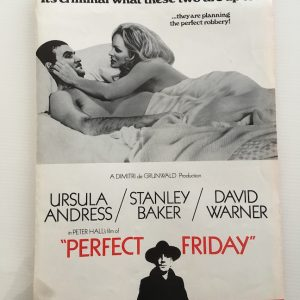 Perfect Friday Film Press Folder 1970