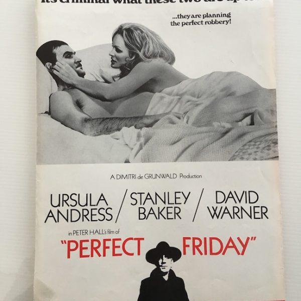 Perfect Friday Film Press Folder 1970