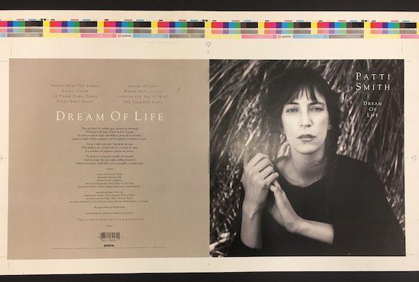 Patti Smith Dream of Life Proof album cover artwork