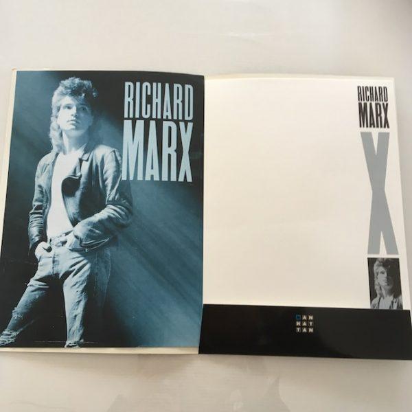 Richard Marx Rare Original Press Folder for Album