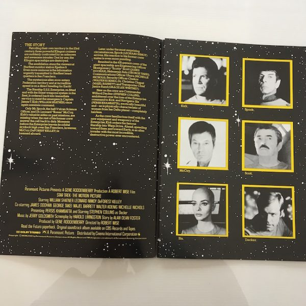 Star Trek The Motion Picture 1979 Press Folder
