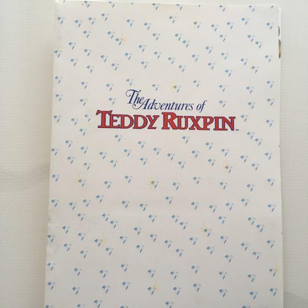 Teddy Ruxpin Original Press Folder From 1985
