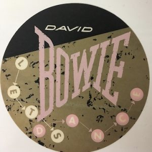 David Bowie 1983 Let's Dance Sticker