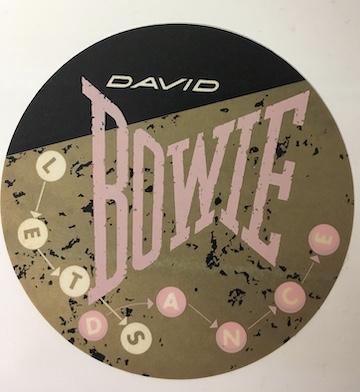 David Bowie 1983 Let's Dance Sticker