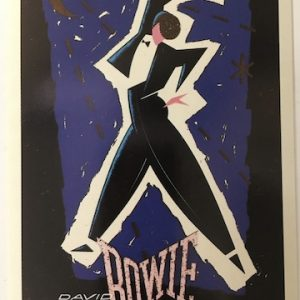 David Bowie 1983 Serious Moonlight Tour Sticker