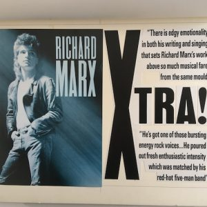 Richard Marx Rare Original Production Artwork for Album Promotion