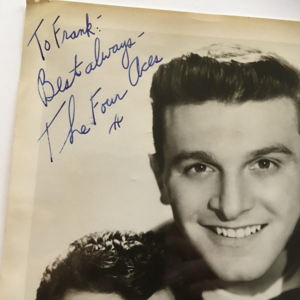 The Four Aces FULLY Signed Photograph