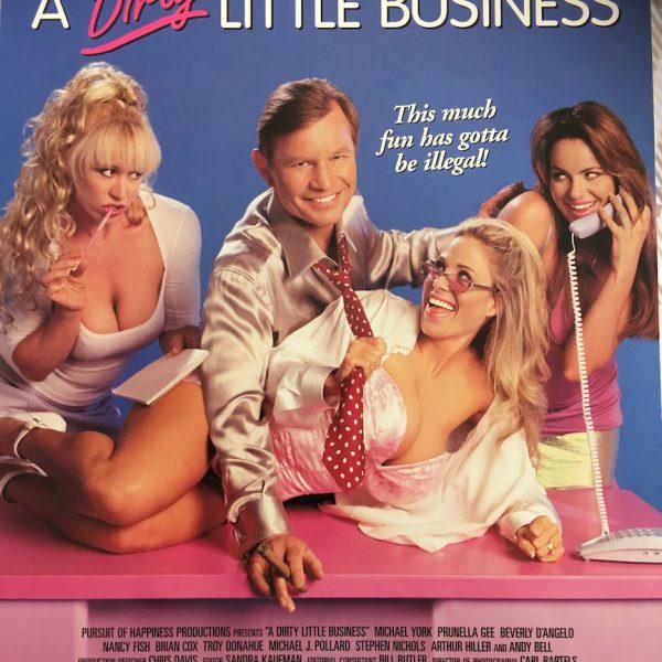 A Dirty Little Business aka Merchants of Venus Film Press Card