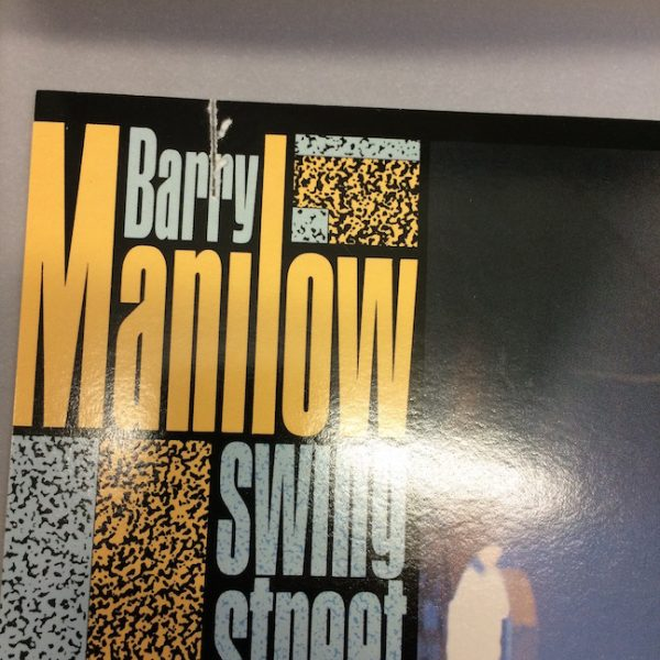 Barry Manilow, Original Production Album Artwork For Swing Street Cover