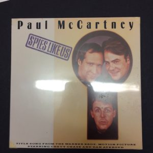 Beatles Paul McCartney Original Mock Single Artwork for Spies Like Us 7″ Single