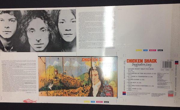 Chicken Shack A Rare and Original Cromalin Proof Artwork For Imagination Lady Album