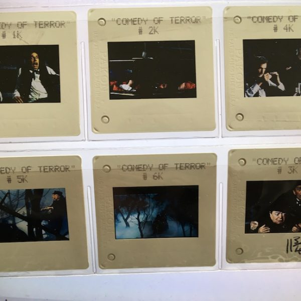 Comedy of Terrors 6 Transparencies