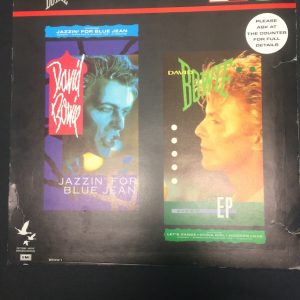 David Bowie Let's Dance Jazzin' For Blue Jean In-Store divider