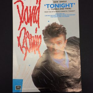 David Bowie Original Poster for Tonight