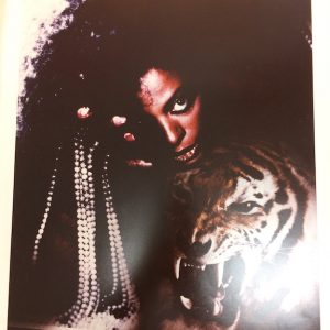 Diana Ross Rare Cromalin Proof original album artwork for Eaten Alive