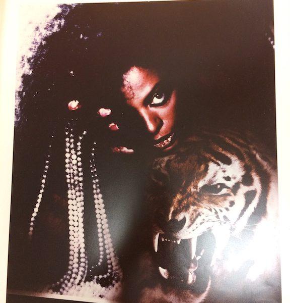 Diana Ross Rare Cromalin Proof original album artwork for Eaten Alive