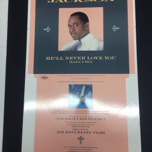 Freddie Jackson rare cromalin proof artwork for vinyl single