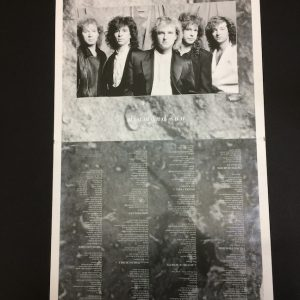 Glass Tiger Original proof Album Artwork for Diamond Sun