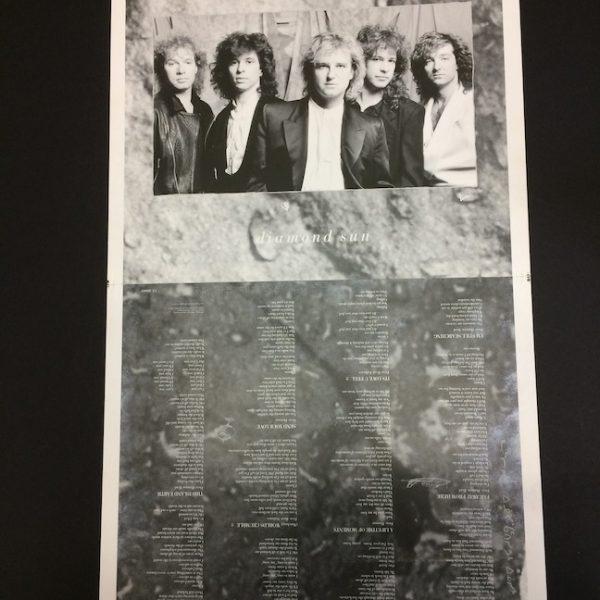 Glass Tiger Original proof Album Artwork for Diamond Sun