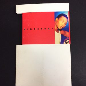 Haddaway rare CD Press Pack and Biography for the Drive album
