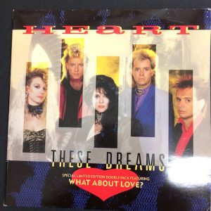 Heart, These Dreams gatefold Single