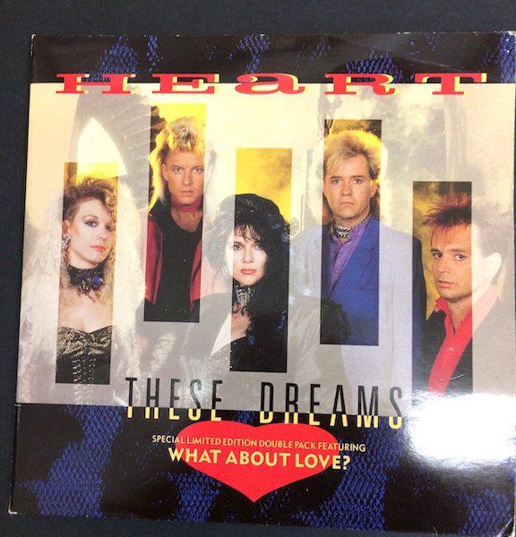 Heart, These Dreams gatefold Single