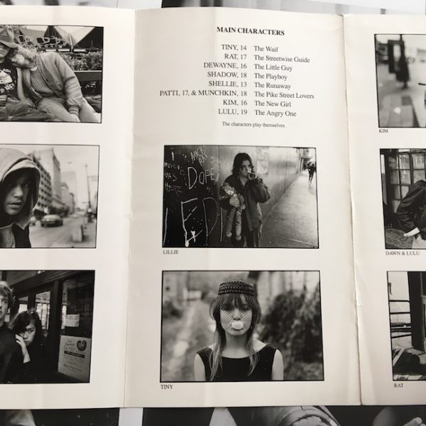 StreetWise rare Press Booklet and 7 Movie Stills
