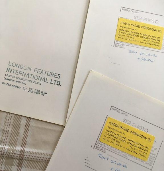 Tony Orlando & Dawn Rare Professional Transparencies