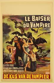 le baiser du vampire ( The Kiss of the Vampire ) Film Poster 1963