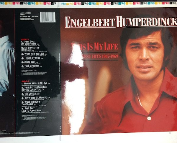 Engelbert Humperdink rare cromalin proof Album Artwork This is My Life