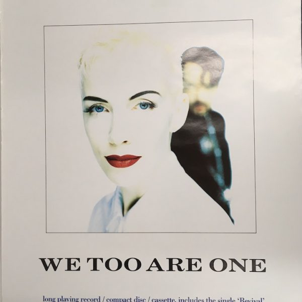 eurythmics we two are one posters2