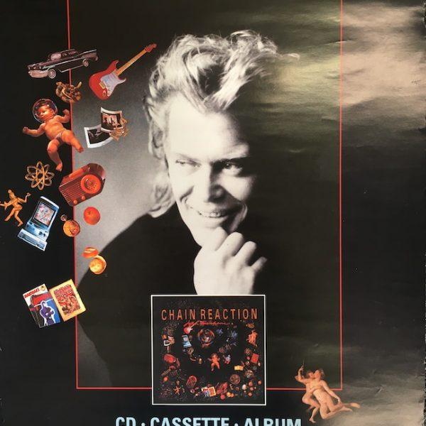 John Farnham Poster for Chain Reaction