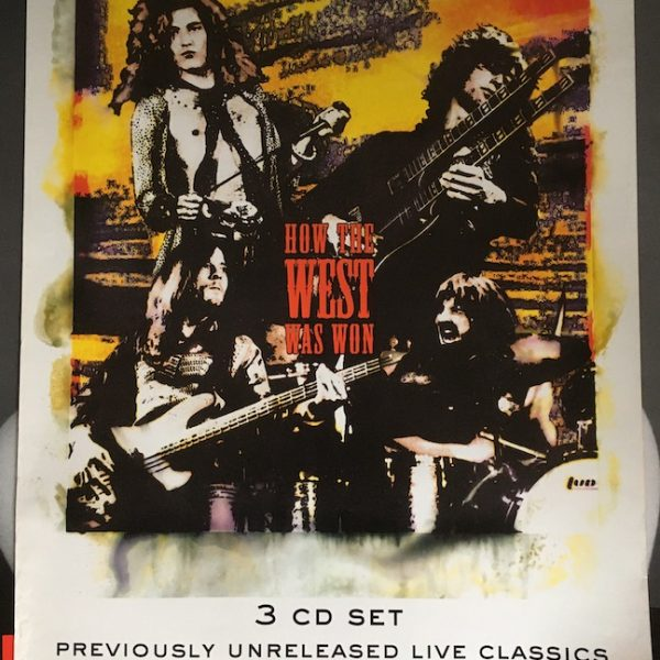 led zeppelin how the west poster