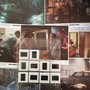 Return of the Living Dead 1984 Production Transparencies and Lobby Cards